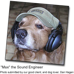 Max the Sound Engineer